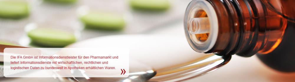 Wir sind Informationsdienstleister für den Pharmamarkt und produzieren Informationsdienste mit wirtschaftlichen und rechtlichen Informationen über bundesweit in Apotheken erhältliche Waren.